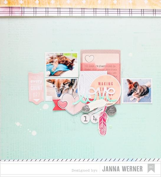 Janna+Werner+Scrapbooking+American+Crafts