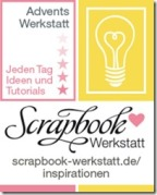 Adventskalender Scrapbook Werkstatt